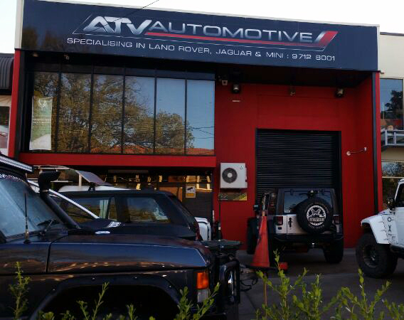 Front of ATV Automotive